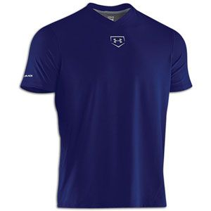 Under Armour Cage to Game Coldblack T Shirt   Mens   Royal/Silver