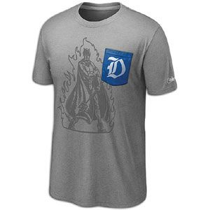 Nike College Vault Tri Blend Pocket T Shirt   Mens   Duke   Dark Grey