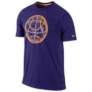 Nike Basketball T Shirts   Mens   Basketball   Clothing   Purple