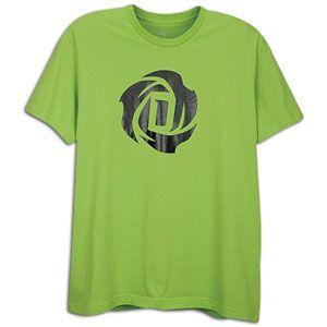 adidas Rose Logo T Shirt   Mens   Basketball   Clothing   Still Green