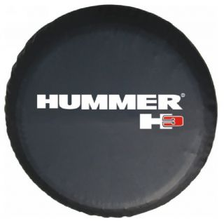 Hummer H3 06 10 Spare Wheel Tire Soft Cover 32 33 w Hummer Logo