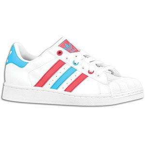 adidas Originals Superstar 2   Girls Grade School   White/Super Pink