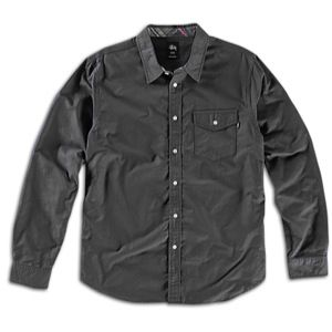 Stussy Classic Contrast Oxford Shirt   Mens   Skate   Clothing