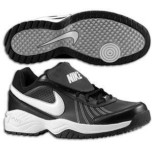 Nike Air Diamond Trainer   Mens   Baseball   Shoes   Black/White