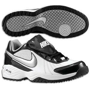 Nike Air Diamond Trainer   Mens   Baseball   Shoes   White/Black