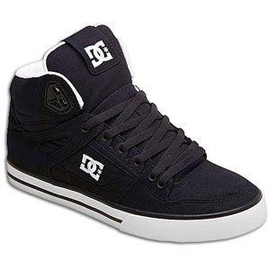 DC Shoes Spartan HI WC TX   Mens   Skate   Shoes   Dark Blue