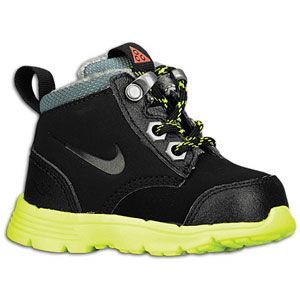 Nike ACG Dual Fusion Jack Boot   Boys Toddler   Black/Volt/Hasta