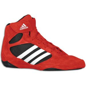 adidas Pretereo II   Mens   Wrestling   Shoes   Red/White/Black