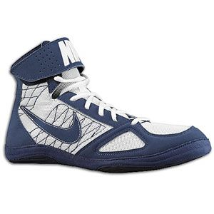 Nike Takedown   Mens   Wrestling   Shoes   Navy/Navy/White