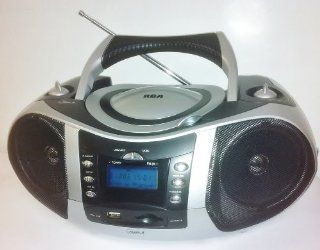 RCA RCD009U Portable CD/ Player Radio with SD/MMC and