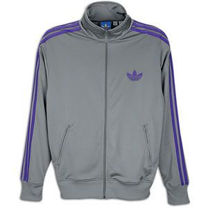 adidas Originals Firebird Track Jacket   Mens   Tech Grey/Collegiate