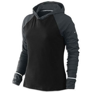 Nike Runners Dri Fit Soft Hand Hoodie   Womens   Running   Clothing