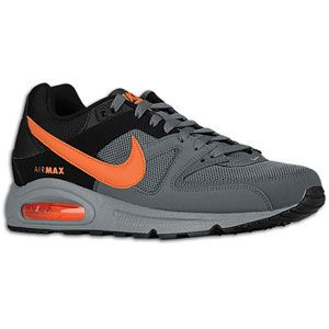 Nike Air Max Command   Mens   Dark Grey/Safety Orange/Anthracite/Cool