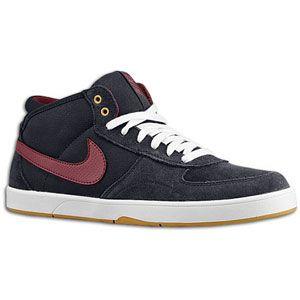 Nike Mavrk Mid 3   Mens   Skate   Shoes   Dark Obsidian/White/Flt