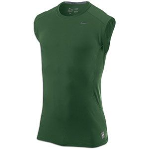 Nike Pro Combat Core Ftted 2.0 S/L T Shirt   Mens   Gorge Green/Flint