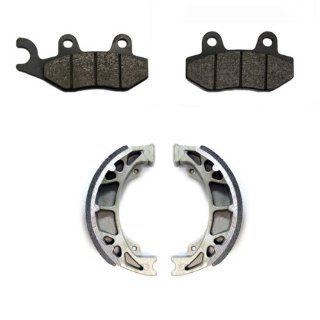 2006 2011 KYMCO Agility 125 Front & Rear Brake Pads and Shoes