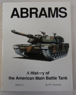 of The American Main Battle Tank Armor Book by R P Hunnicutt