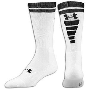 Under Armour Zagger Sock   Mens   Football   Accessories   White