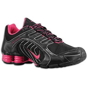 Nike Shox Navina SI   Womens   Black/Fireberry/Metallic Dark Grey