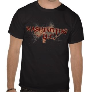 Bleeding Grunge Washington DC T Shirt