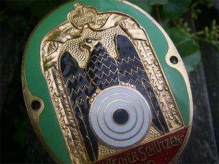 DSB SCHUETZENBUND   GERMAN HUNTER SHOOTING HUBERTUS Badge EAGLE   car