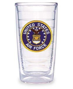 Air Force Logo Emblem Tervis Tumbler 16 oz Kitchen