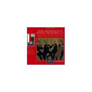 Beethoven String Quartet No. 12, Op.127; Mozart String