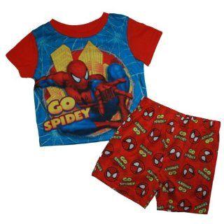 Spider man Short Pajama Set for Toddler Boys (18 Months