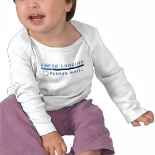 Diaper T shirts, Shirts and Custom Diaper Clothing