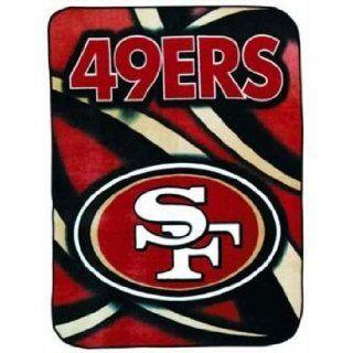 NFL San Francisco 49ers GRIDIRON Raschel Knit Stadium King
