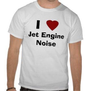 Heart, I, Jet Engine Noise Shirt