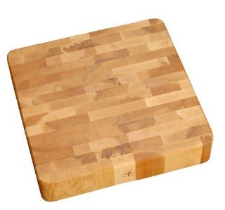 J.K. Adams 16 Inch Square Maple Wood End Grain Cherry