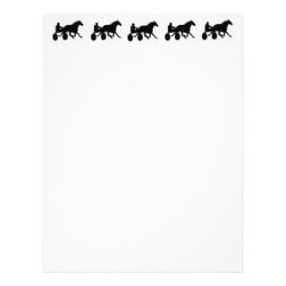 Harness Racing Letterhead