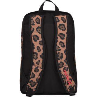 Hurley Cheetah Backpack Leopard Animal Laptop Bag New
