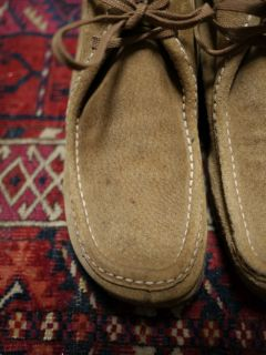 Vintage Womens 1970s Hush Puppies Desert Suede Chukka Ankle Boots USA