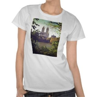 San Remo Framed By Trees, Central Park, NYC Shirts