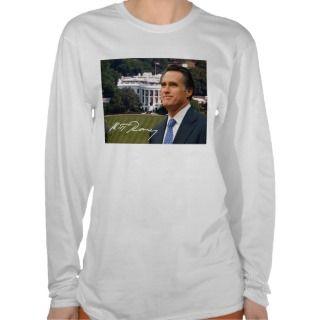 Mitt Romney & White House Tee Shirts