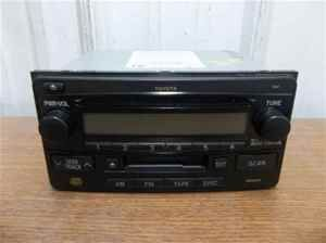 03 04 05 Toyota 4Runner Radio Cassette CD Player