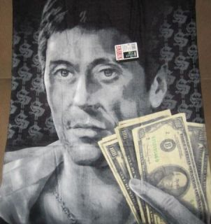 New Original Scarface Hustler Tony Montana Beach Bath Gift Towel 100