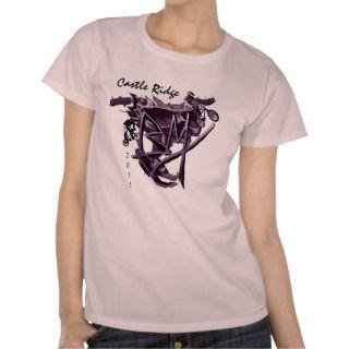 BMX purple 1 personalizable Tee Shirts