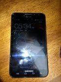 Samsung Galaxy Note LTE SGH i717 Black at T Please Read Description