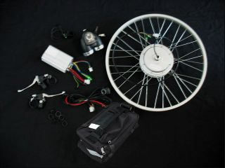 250W E bike Electric Bicycle Conversion Kit Scooter Motor + thumb 26