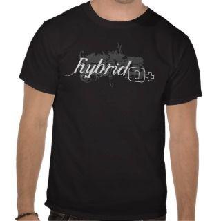 Hybrid (white) O+ Tee Shirts