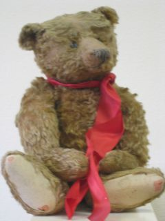 RARE ANTIQUE 19 STEIFF TEDDY BEAR CINNAMON MOHAIR ORIG. BUTTON CIRCA