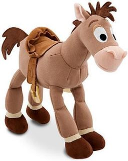 New Disney Toy Story Woody Jessie Bullseye Horse Mini Bean Plush Doll