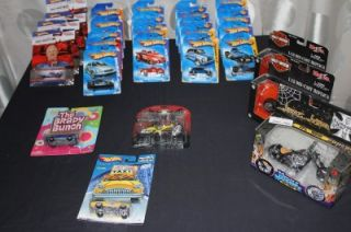 Hot Wheels KV Racing Harley Davidson Chopper BMX Bike Lot of 29