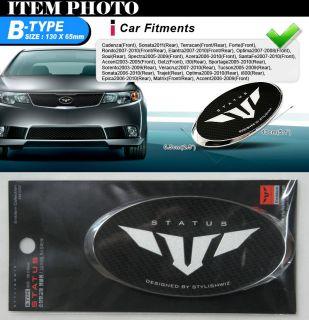 Status Front Grill Emblem B for 06 10 Hyundai Azera