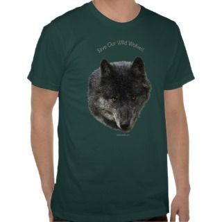 WOLF & EAGLE Wildlife Series T Shirt