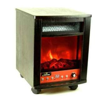 LIVING Infrared Heater 1500 Watts Energy Saving Appliance Simulated