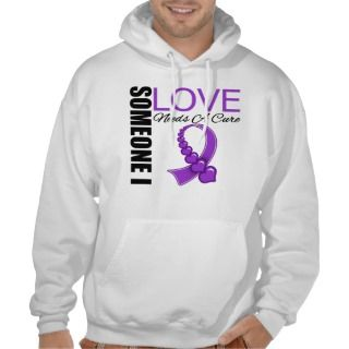 Lupus Someone I Love Needs A Cure Hooded Sweatshirts